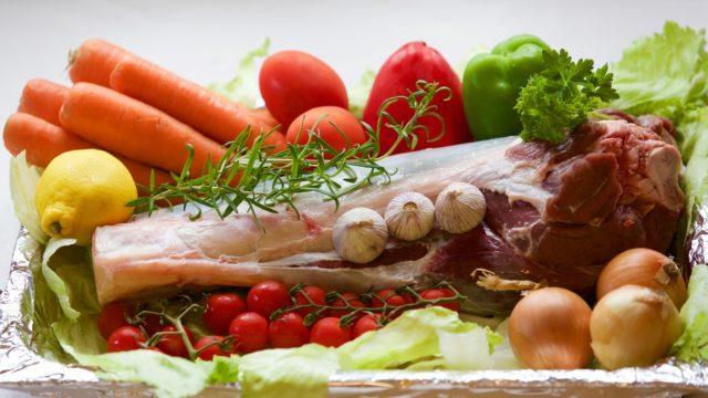 肉や野菜など食材の画像